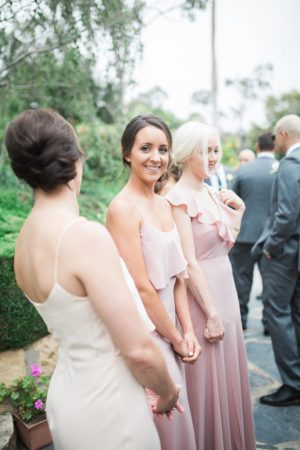 Pink bridesmaid dress - Kiel Rucker Photography