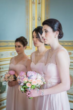 Pink bridesmaid dresses - Pierre Paris Photography