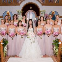 Pink bridesmaid dresses - Ace Cuervo Photography