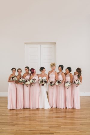 Pink bridesmaid dresses - Manifesto Photography