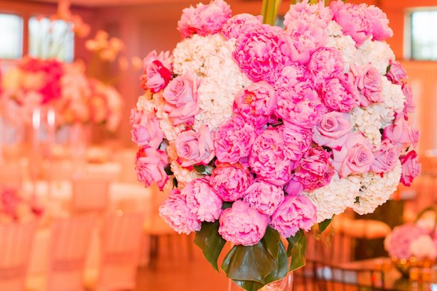 Pink wedding flowers - Ace Cuervo Photography