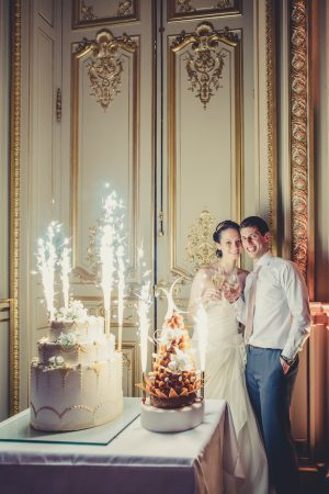 Wedding Cake fireworks - Pierre Paris Photography
