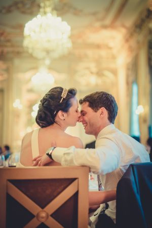Luxury Paris Hotel Wedding - Pierre Paris Photography