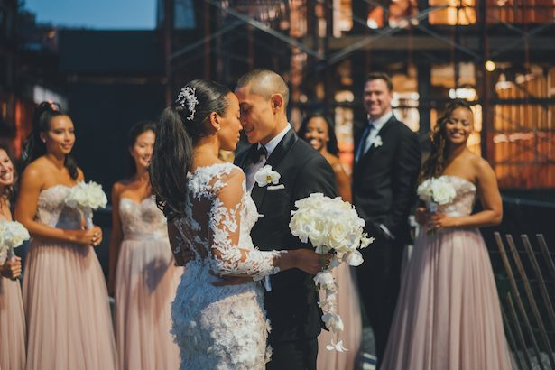 Industrial Chic Wedding Infused with Traditions