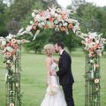 Romantic wedding photo - Justin Wright Photography