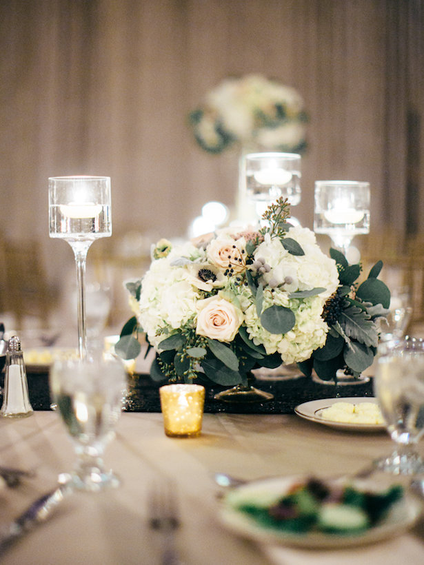 Short wedding centerpiece - The WaldronPhotography