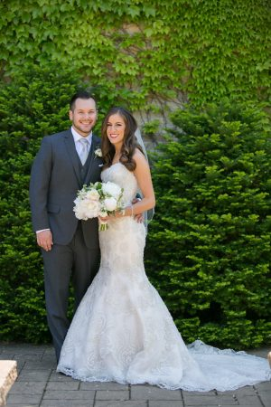 Sophisticated bride and groom - Erin Johnson Photography