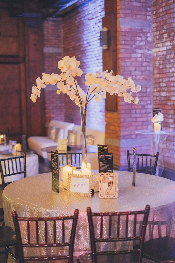 Tall wedding centerpiece - Olli Studio