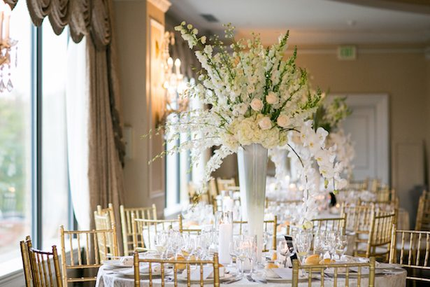 Tall wedding centerpiece - Cody Raisig Photography