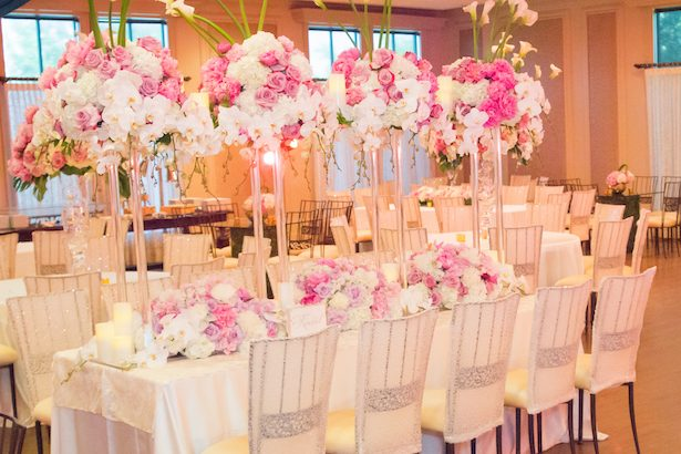 Tall wedding centerpieces - Ace Cuervo Photography