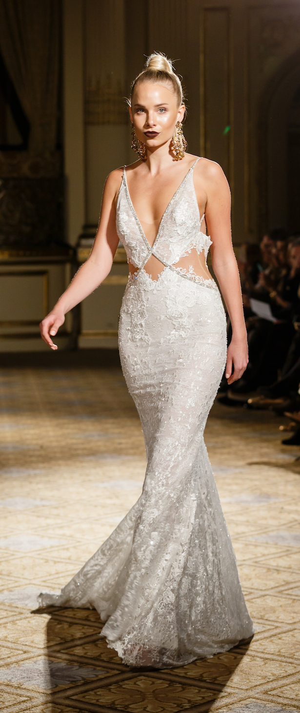 Wedding Dress by BERTA Spring 2018 runway show