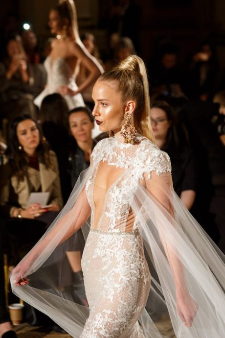Berta Bridal Spring 2018 Runway Show Belle The Magazine