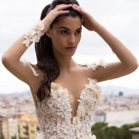 Wedding Dress by Milla Nova White Desire 2017 Bridal Collection - Bella