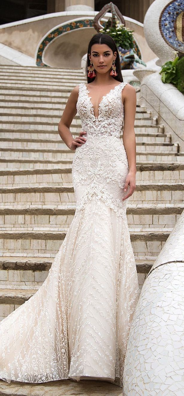 Wedding Dress by Milla Nova White Desire 2017 Bridal Collection - Briana