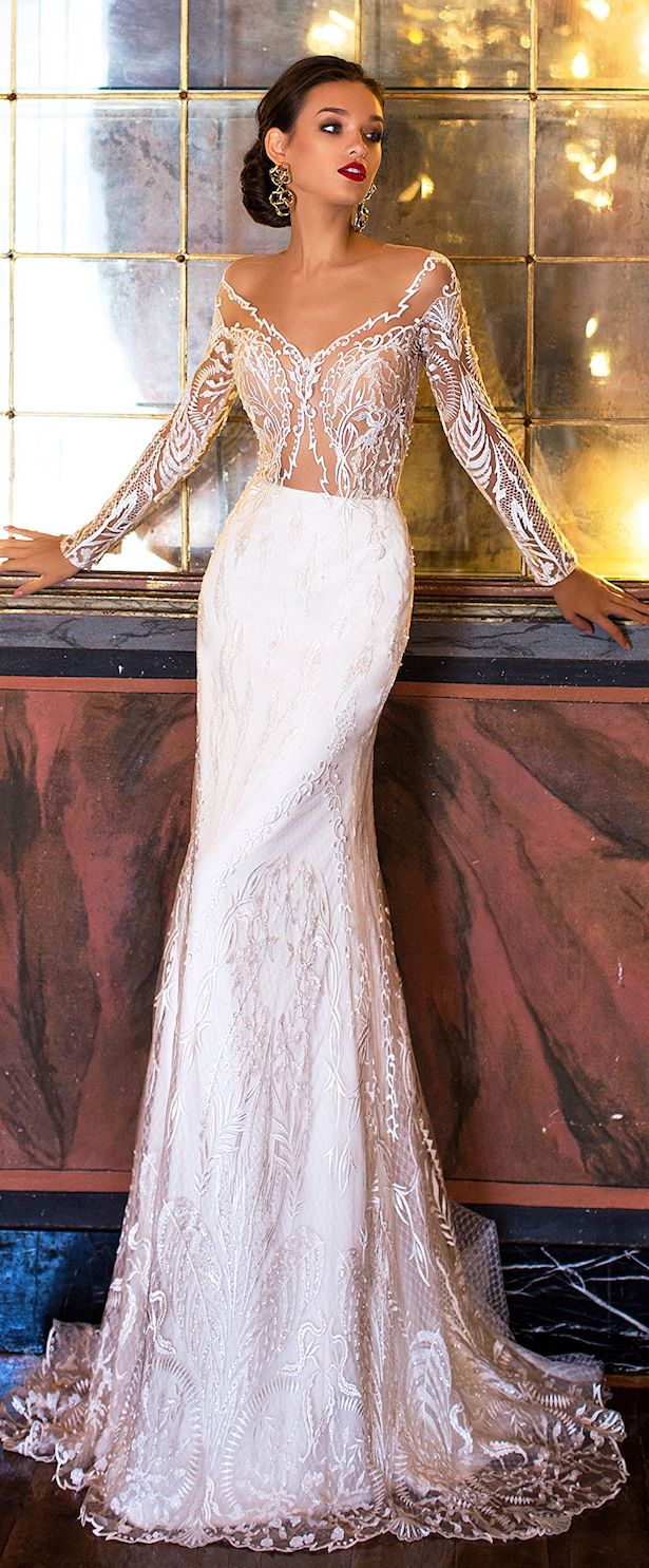 Wedding Dress by Milla Nova White Desire 2017 Bridal Collection - Fidela