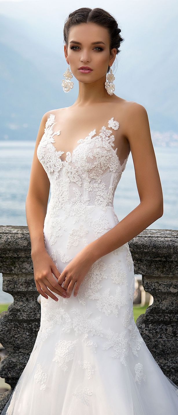 Wedding Dress by Milla Nova White Desire 2017 Bridal Collection - Genvy