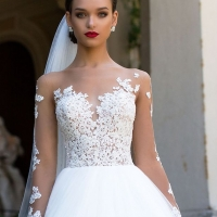 Wedding Dress by Milla Nova White Desire 2017 Bridal Collection - Jersaey