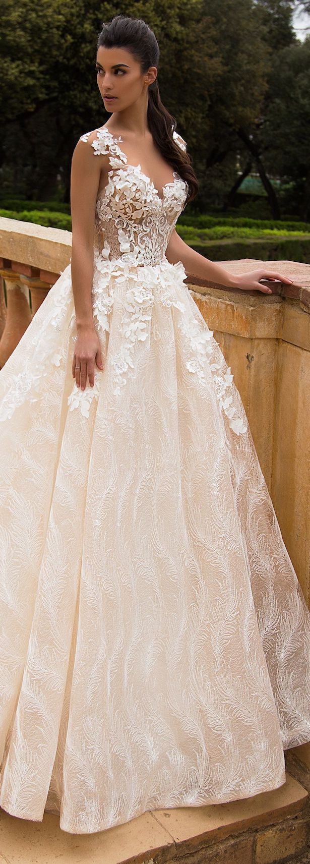 Wedding Dress by Milla Nova White Desire 2017 Bridal Collection - Mabela