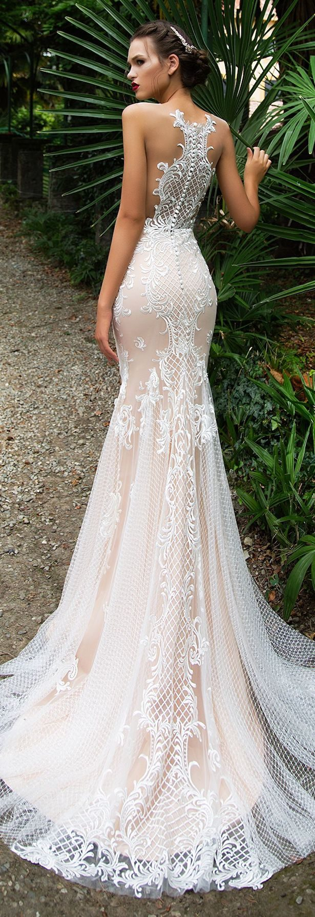 Best Wedding Dresses of 2017 - Wedding Dress by Milla Nova White Desire 2017 Bridal Collection - Salma