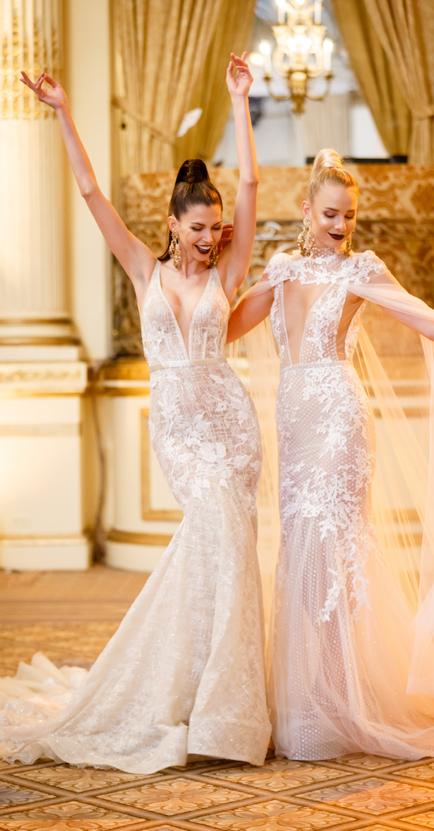 Wedding Dresses by BERTA Spring 2018 runway show