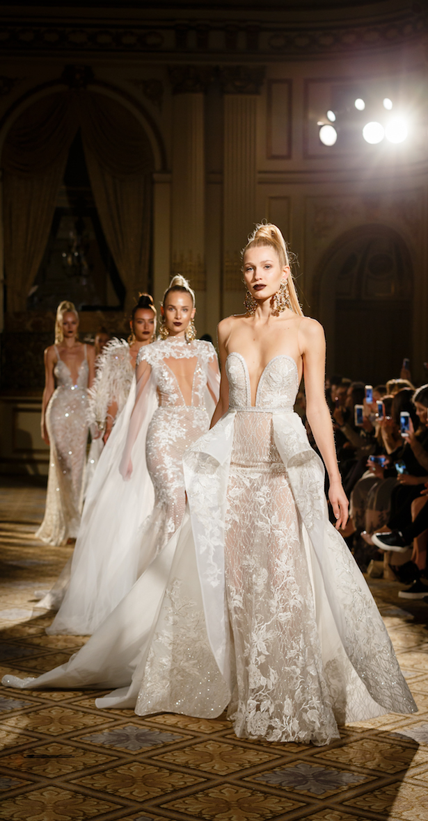 Wedding Dresses by BERTA Spring 2018 runway show Finale