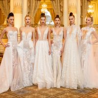 Wedding Dresses by BERTA Spring 2018 runway show Finally