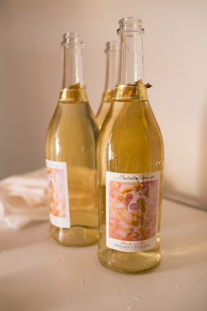 Wedding Wine bottles - Erin Johnson Photography