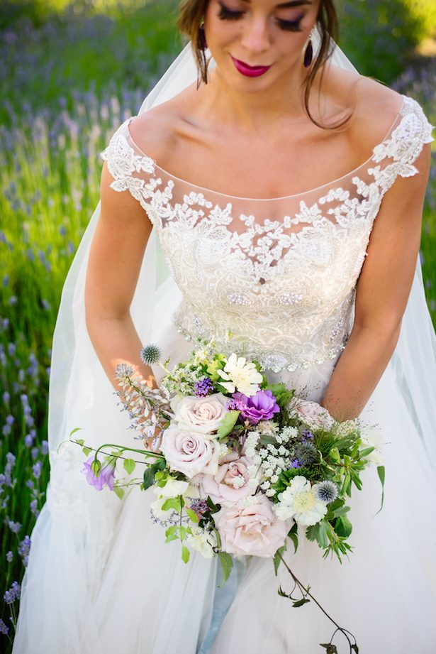 """Wildest Dreams"" Lavender Wedding Inspiration"