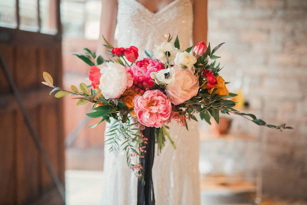 Peony Wedding bouquet - Gideon Photography