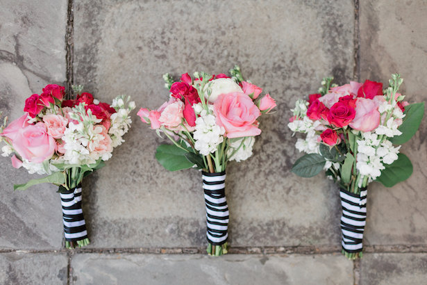 Kate Spade Inspired Wedding bouquets - Alicia Lacey Photography