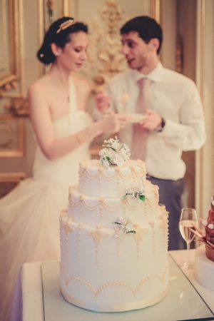 Wedding cake - Pierre Paris Photography