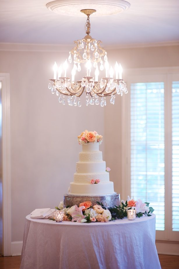 Wedding cake table - Justine Wright Photography
