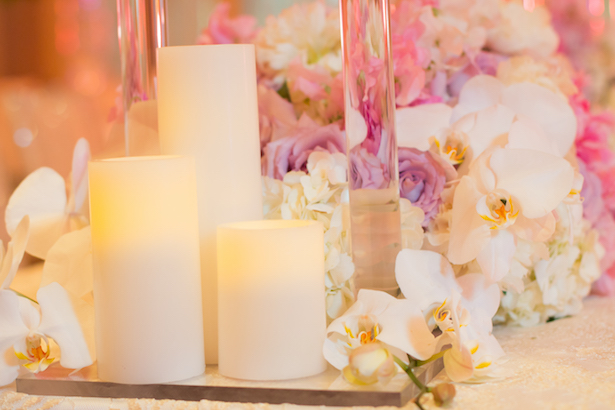 Wedding candle centerpiece - Ace Cuervo Photography