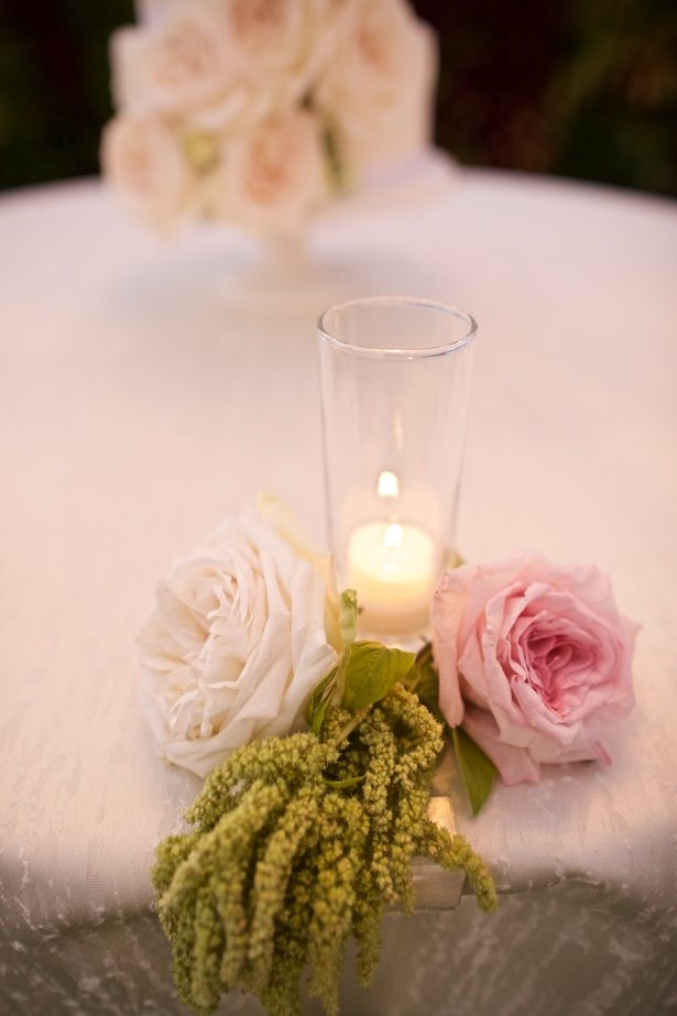 Wedding candle decor - Anna Kim Photography