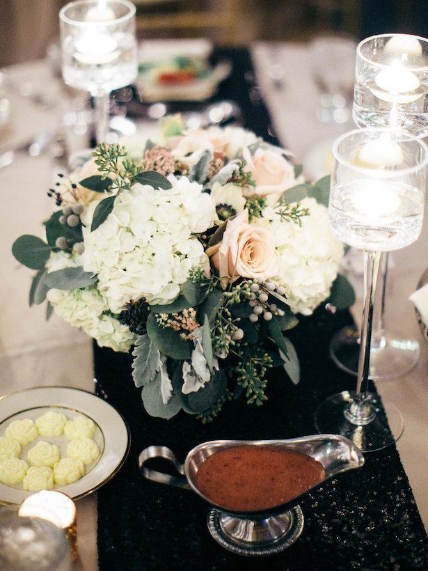 Wedding centerpiece - The WaldronPhotography