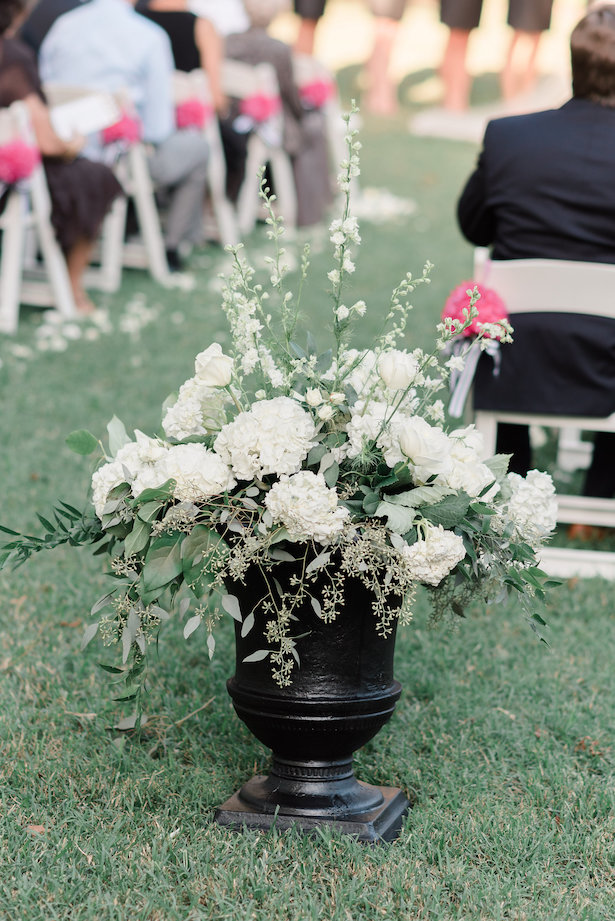 Wedding ceremony decor - Alicia Lacey Photography