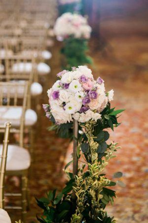 Wedding ceremony flowers - Style and Story Photography