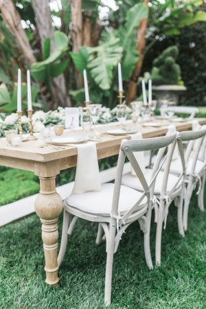Garden Wedding Decor - Kiel Rucker Photography