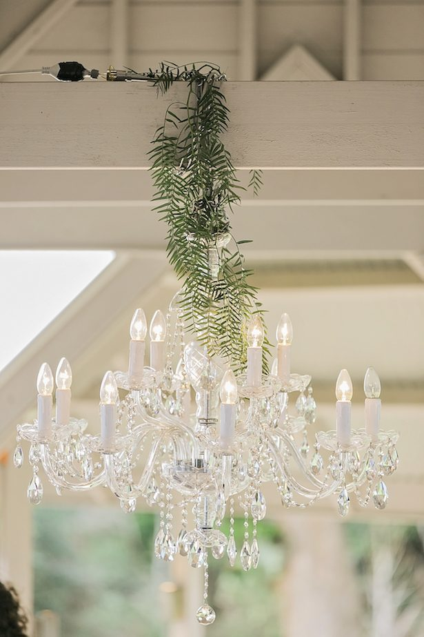 Wedding chandelier - Calli B Photography's