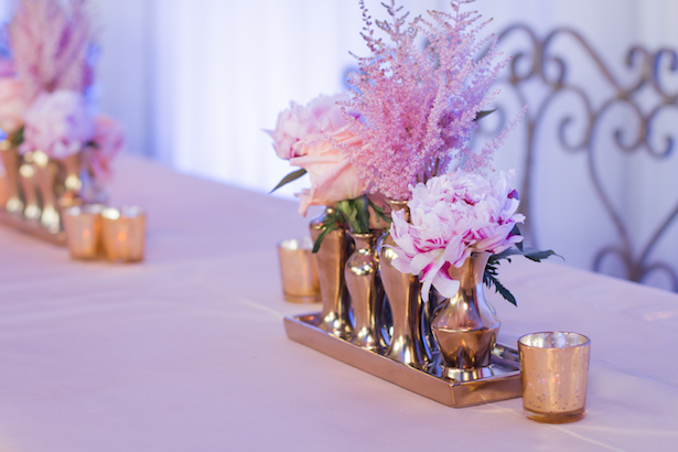 Low wedding centerpieces - Ace Cuervo Photography