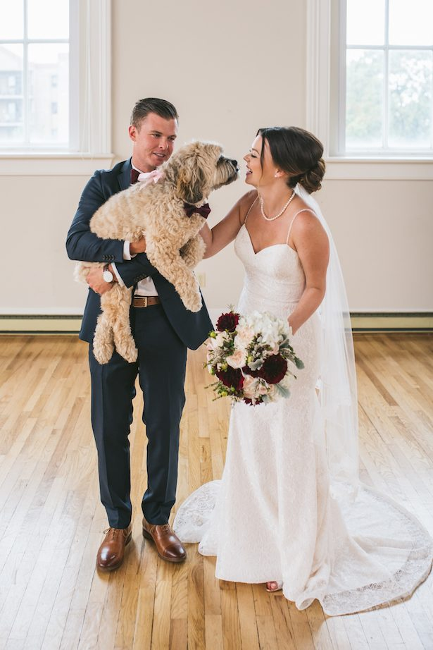 Wedding dog - Manifesto Photography