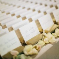 Wedding escort card - The WaldronPhotography
