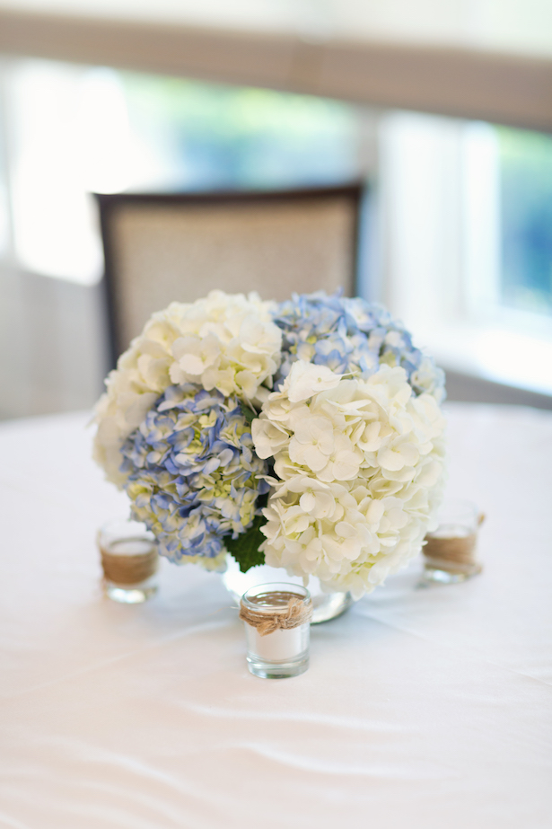 Wedding floral centerpiece - Sunny Lee Photography