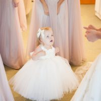 Wedding flower girl dress - Ace Cuervo Photography