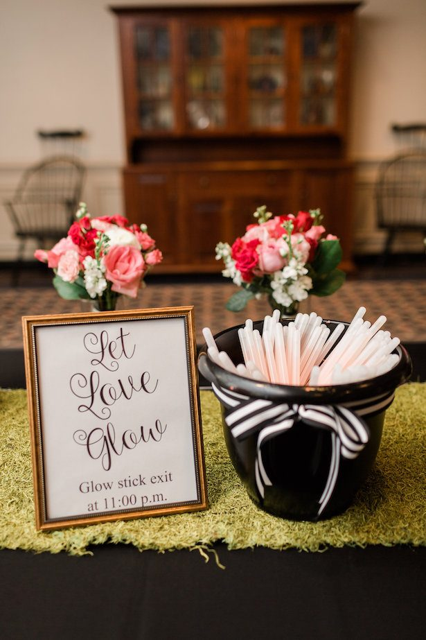 Wedding glow stick ideas – Alicia Lacey Photography