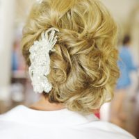 Wedding hair style - Justine Wright Photography