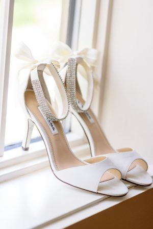 White Wedding shoes - Katie Whitcomb