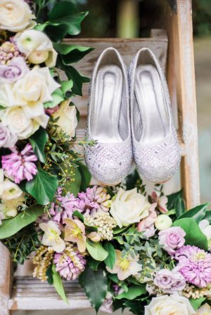 Wedding shoes - L'estelle Photography