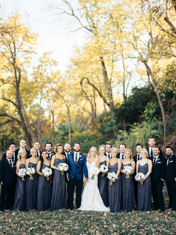 Wedding party picture - The WaldronPhotography