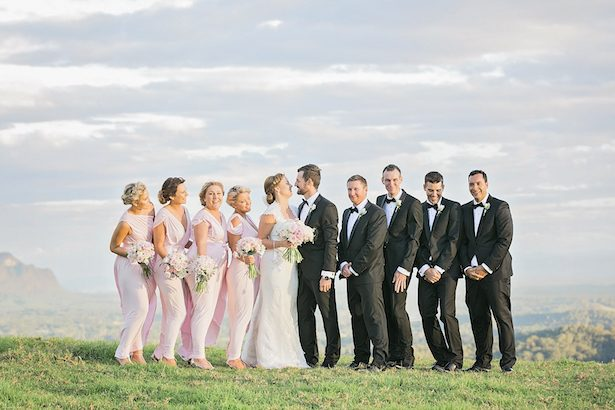 Wedding party pictures - Calli B Photography's